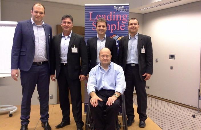 Das Trainerteam beim offenen Leading Simple Seminar