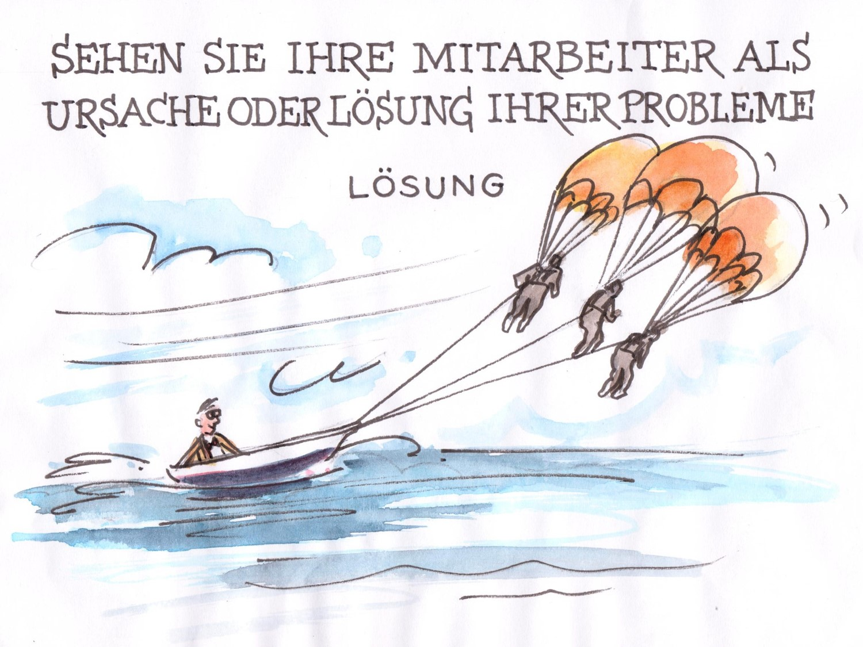 Sind Ihre Mitarbeiter die Lösung Ihrer Probleme?