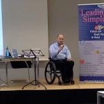 Boris Grundl beim Führungskräfteseminar Leading Simple