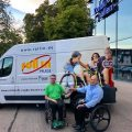 """Grundl Leadership Institut spendet für die Initiative """"Rollstuhl Rugby macht Schule"""""""